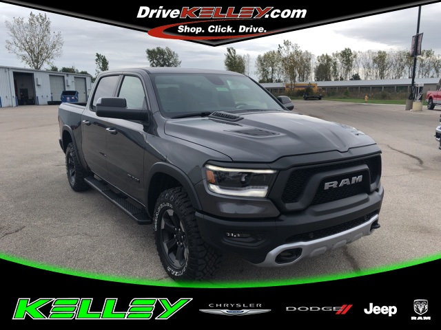 Ram 1500 Rebel >> New 2019 Ram All New 1500 Rebel Crew Cab In Decatur 16t1005 Tom